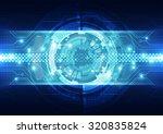 abstract vector engineering... | Shutterstock .eps vector #320835824