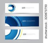 vector design banner technology ... | Shutterstock .eps vector #320873750