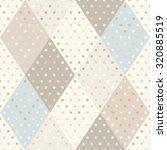 vector seamless rhombus pattern.... | Shutterstock .eps vector #320885519