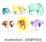Watercolor Hand Drawn...