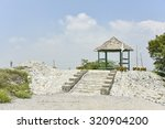 Hut At View Point On A Mountain