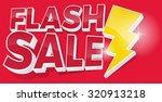 ultra dynamic 3d flash sale... | Shutterstock . vector #320913218