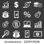 finance icon set 2  simple...