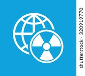 global radiation icon  simple...