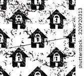 locked house pattern  grunge ...