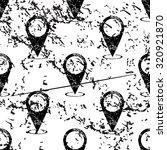 map pointer pattern  grunge ...