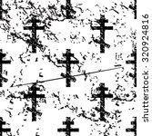 orthodox cross pattern  grunge  ... | Shutterstock . vector #320924816