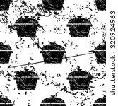pot pattern  grunge  black...