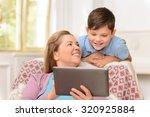 happy childhood. upbeat nice... | Shutterstock . vector #320925884