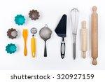 tools pastry still life | Shutterstock . vector #320927159