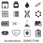 science icon set 4  simple...