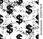dollar pattern  grunge  black...