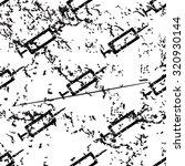 syringe pattern grunge  black...