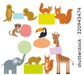 Cute Animals Set Frame For You...