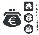 euro purse set