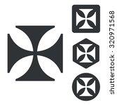 maltese cross set