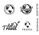 set of travel icons  logos ...   Shutterstock .eps vector #320974739