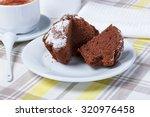 cappuccino with cupcakes ... | Shutterstock . vector #320976458