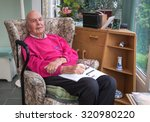 95 years old english man... | Shutterstock . vector #320980220