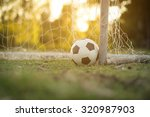 soccer sunset   Shutterstock . vector #320987903