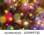 Blurred Colorful Christmas...