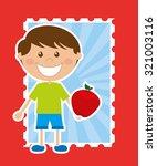kids menu design  vector... | Shutterstock .eps vector #321003116