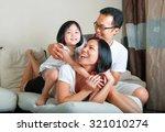 beautiful asian family enjoying ... | Shutterstock . vector #321010274