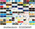 illustration of front and back... | Shutterstock .eps vector #321026069