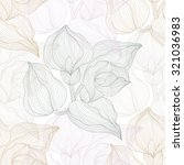 elegant seamless pattern with... | Shutterstock .eps vector #321036983