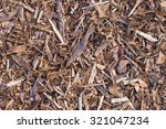 Pine Tree Bark Chip Background...