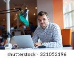 startup business  software... | Shutterstock . vector #321052196