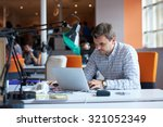 startup business  software... | Shutterstock . vector #321052349