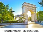View Of Washington Square Park...