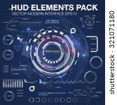 infographic elements.... | Shutterstock .eps vector #321071180