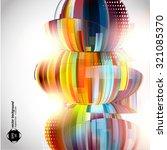 textures art vector eps jpg... | Shutterstock .eps vector #321085370