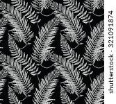 Seamless Pattern Of A Fern Lea...