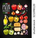 vector set of different... | Shutterstock .eps vector #321098120