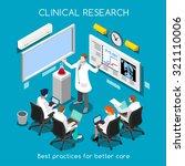medical doctor conference... | Shutterstock .eps vector #321110006