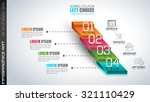 clean infographic layout... | Shutterstock .eps vector #321110429