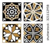 vintage ornamental patterns | Shutterstock .eps vector #321112958