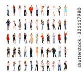 teamwork achievement teams over ... | Shutterstock . vector #321117980