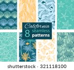 vector california nature eight... | Shutterstock .eps vector #321118100