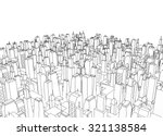 big city architecture | Shutterstock . vector #321138584