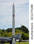 Small photo of HAMPTON, VA - SEP 7: Air Power Park in Hampton, Virginia, as seen on Sep 7, 2015. Several vintage aircraft and experimental space launch vehicles from the 1950s and 1960s are displayed out of doors.