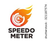 fast and speed logo template... | Shutterstock .eps vector #321187574