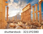 Ancient Roman Time Town In...