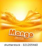juicy vector background with... | Shutterstock .eps vector #321205460