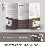 beauty care   salon tri fold...   Shutterstock .eps vector #321207668