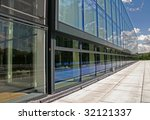 the new modern office of the... | Shutterstock . vector #32121337