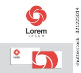 logo design elements with... | Shutterstock .eps vector #321225014